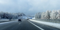 Snow winter road highway frost driving asphalt weather lane season infrastructure away freezing road surface atmospheric phenomenon nonbuilding structure controlled access highway 1055473 - NewsNN.Ru