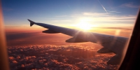 Sunlight sunset sky wings photography clouds airplane aircraft sunrise evening morning horizon atmosphere dusk flight cloud dawn aviation wing daytime 2560x1600 px atmosphere of earth afterglow air travel meteorological phe - NewsNN.Ru